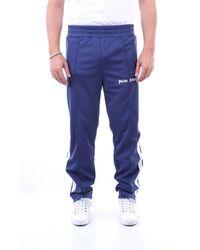 Palm Angels Pantalon - Bleu