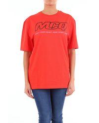 McQ T-shirt alexander mcqueen avec imprimé et manches courtes - Multicolore