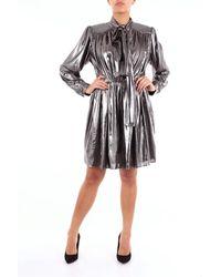 Isabelle Blanche Abito corto color argento - Metallizzato