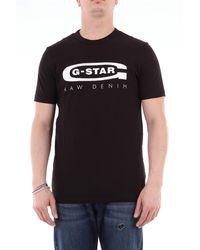 G-Star RAW Camiseta con estampado slim fit - Negro