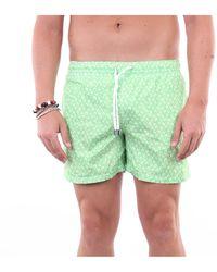 Fedeli Traje de baño pantalones cortos mar - Verde