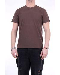 Fedeli Faithful camiseta con cuello redondo - Marrón