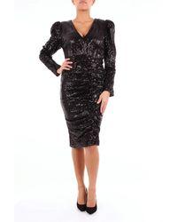 Lavish Alice Lujoso vestido corto de alice - Negro