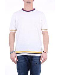 Altea - Camiseta blanca de cuello redondo - Lyst