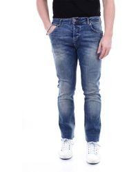 John Richmond Pantalones vaqueros delgado - Azul