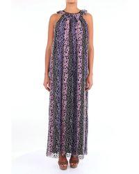 Folies Blugirl Robes long femme - Violet