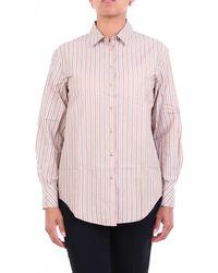Purotatto Camicia generica color con righe - Rosa