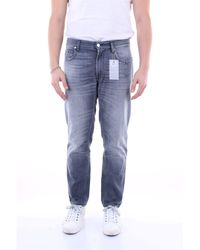 Department 5 Jeans maigre - Gris