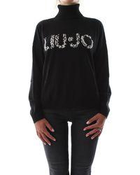 Liu Jo T-shirt pullover - Noir