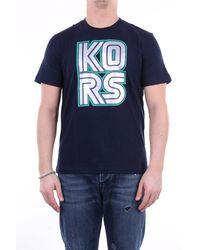 Michael Kors Camiseta azul medianoche de micheal kors
