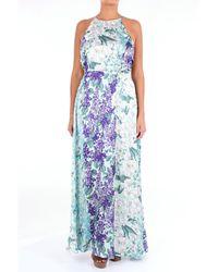 Folies Blugirl Robes long femme - Bleu