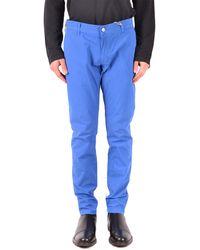 Daniele Alessandrini Pantalones clásicos - Azul