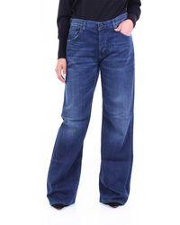Dondup Jeans droit - Bleu