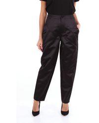 Philosophy Di Lorenzo Serafini - Pantalone classico di colore nero - Lyst