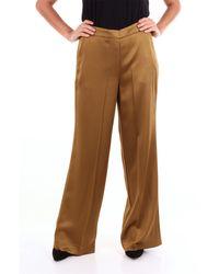 Maliparmi Pantalon classique - Marron