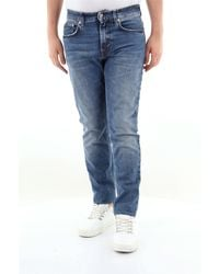 Department 5 - Jean skinny skeith 5 poches en coton stretch - Lyst