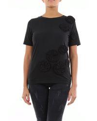 Alpha Studio T-shirt maniche corte di colore nero