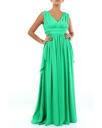 Clips Vestidos largo - Verde