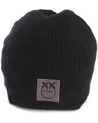 Pinko Cappelli beanie nero - Negro