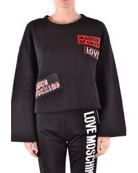 Love Moschino Sudaderas con capucha - Negro