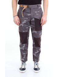 Whitesand 88 Pantalon camouflage multipoches sable blanc 88 avec ceinture - Multicolore
