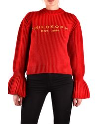 Philosophy Tricots foulard - Rouge