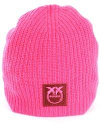 Pinko Cappelli beanie fuxia - Rosa