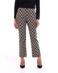 PT Torino Pantalone classico bicolore - Nero