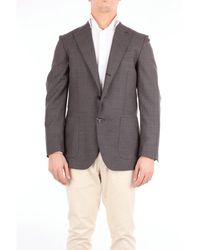 Angelo Marino Chaquetas chaqueta de sport - Gris