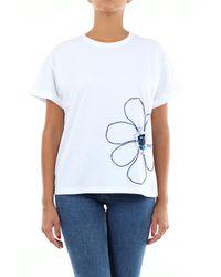 Alessandro Dell'acqua T-shirt à manches courtes - Blanc