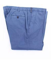 PT01 Pantalones regular - Azul