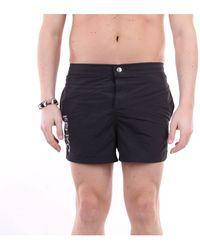 KENZO Traje de baño pantalones cortos mar - Negro