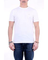 C.P. Company T-shirt girocollo di colore bianco