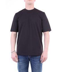 LOWBRAND Camiseta negra de manga corta - Negro