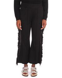 Jijil Pantalone donna in felpa grigio - Noir