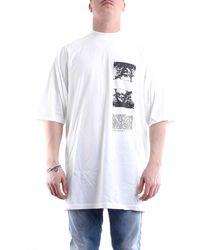 Rick Owens Drkshdw - Camiseta blanca - Lyst