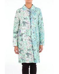 Folies Blugirl Vêtements d'extérieurürünler ve aksesuarlar long - Vert