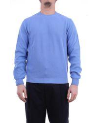 Heritage Jersey de cuello redondo en color celeste - Azul