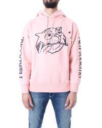 Aries Sweat-shirts avec capuche unisexe - Rose