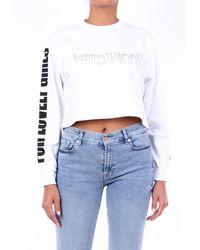 Gcds T-shirt à manches longues - Blanc
