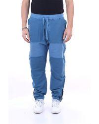 Stone Island Pantalon de gym avion - Bleu