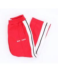 Palm Angels Pantalones largo - Rojo