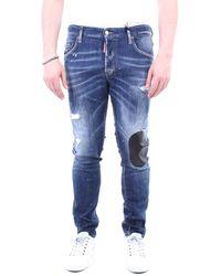 DSquared² Jeans mince - Bleu