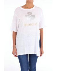 Étoile Isabel Marant T-shirt Camiseta de manga corta - Blanco