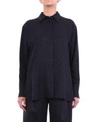 Givenchy Blusa de manga larga negra - Negro