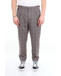 PT Torino Pantalon torino prince de galles - Noir