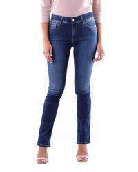 Replay Jeans maigre - Bleu