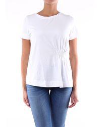 Alpha Studio T-shirt maniche corte di colore bianco