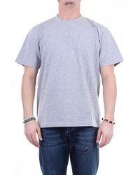 Marni T-shirt girocollo di colore grigio
