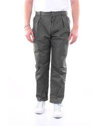 Valentino Pantalon vert militaire - Gris